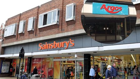 Sainsbury's on Upper Brook Street in Ipswich, where Argos can now be found. Picture: ARCHANT