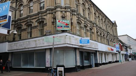 Renovation of the old Co-op building into a block of flats called Carr House, is part of the council