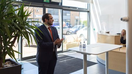Masterlord Office Village in Ipswich is supporting businesses returning to their offices with new te