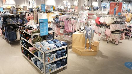 A glimpse of what Primark stores will look inside once they reopen. This is the Westfield store, but