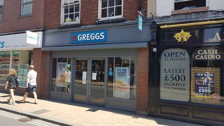 Greggs in Upper Brook Street, Ipswich, will reopen on Thursday, June 18. Picture: PAUL GEATER