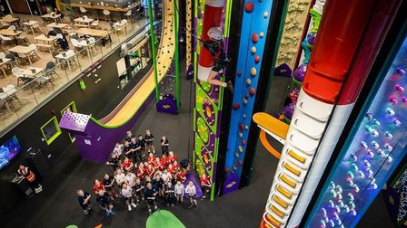 The new Clip 'n' Climb centre in Ipswich is being helped to adjust to new coronavirus distancing rul