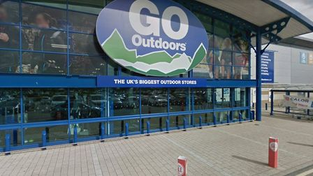 The Go Outdoor store in Anglian Retail Park, Ipswich Picture: GOOGLEMAPS