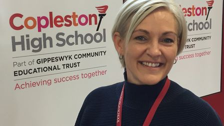 Kelley Osman has led a programme of mental health support for students at Copleston High School in I
