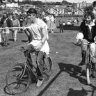 Fancy dress races at Stoke High School Fete in 1983 Picture: ARCHANT