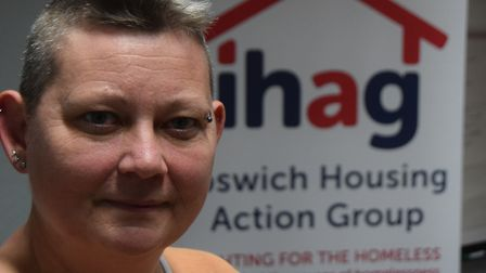 Jools Ramsey, chief executive of Ipswich Housing Action Group (IHAG). Picture: ANDREW PAPWORTH
