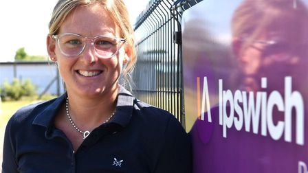 Abbie Thorrington takes over the top job at Ipswich Academy after six years at the school. Picture: