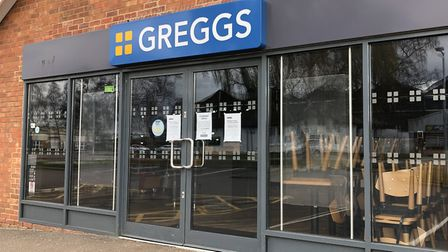 The Greggs in Martlesham could be among the 800 stores the company is opening this week Picture: CH