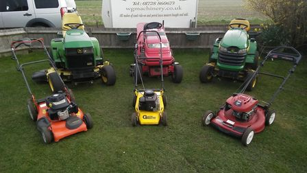 Wetheringsett Garden Machinery services and repairs all makes and models of garden machinery Pic