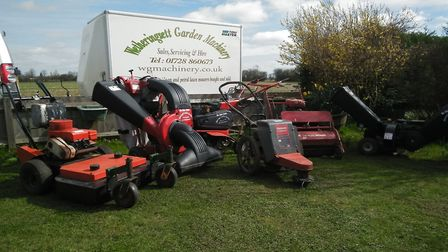 Find all the garden equipment you need at Wetheringsett Garden Machinery Picture: Andrew Peck