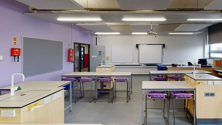 There are new kitchens and science laboratories inside Copleston High School's new multi-million pou