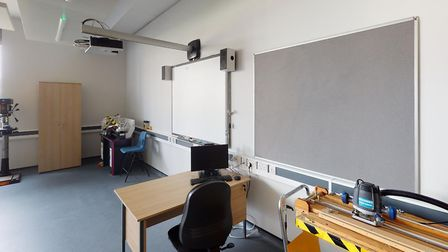 Copleston High School's new multi-million pound building is equipped with the latest technology thro