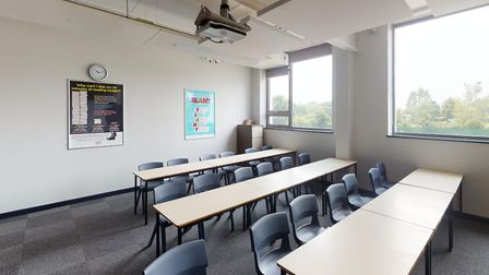 The classrooms inside Copleston High School's new building have a very modern feel. Picture: OAKSMER