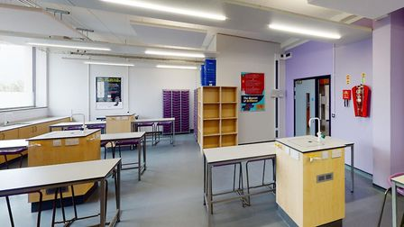 Copleston High School's new multi-million pound building includes new kitchens and science laborator