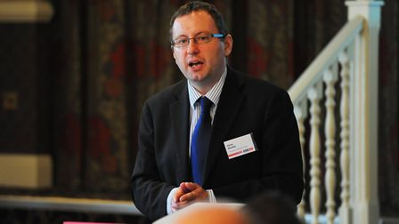 New Anglia LEP chief executive Chris Starkie said some of Suffolk and Norfolk's key industries were