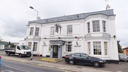The Railway pub is shutting its doors Picture: GREGG BROWN
