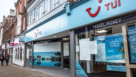 Tui remains closed to customers Picture: SARAH LUCY BROWN