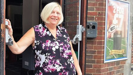 New landlady Diane Round at the Suffolk Punch. Picture: PAUL GEATER