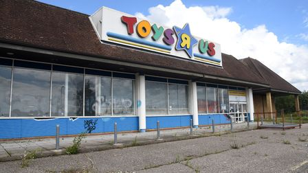 The former Toys R Us store has been closed since 2018. Picture: CHARLOTTE BOND