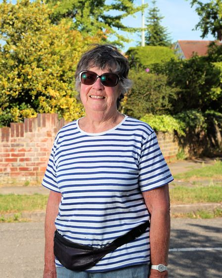 Philip King took photos of people in Ipswich exercising during the coronavirus lockdown. Sally usual