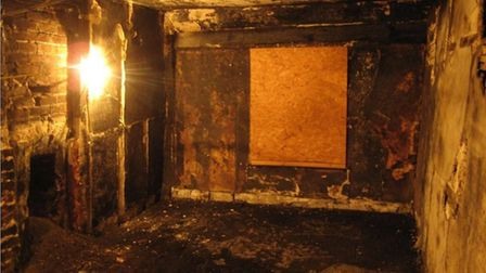 The inside of 4 College Street, which Ipswich Borough Council is planning to refurbish to get the bu