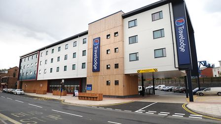 Newly re-opened Travelodge on Duke Street, Ipswich. Picture: GREGG BROWN
