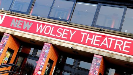 Front of the New Wolsey Theatre in Ipswich