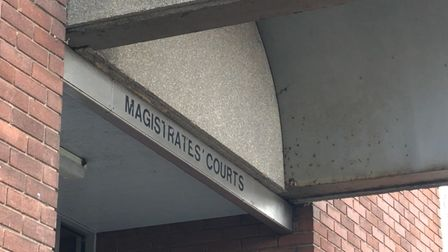 Craig Horsnell appeared at Suffolk Magistrates' Court via video link from Martlesham Heath police in