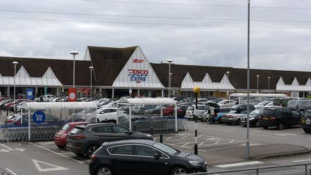 The 20-year-old was seen driving a VW Golf into the car park at Tesco, Copdock Picture: SARAH LUCY