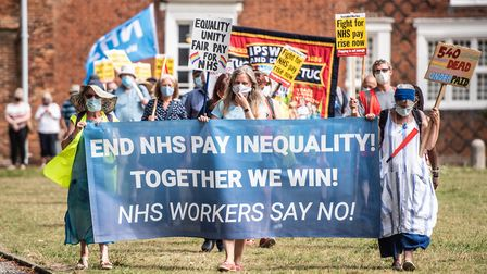 Other public sector workers have already been guaranteed a pay rise Picture: SARAH LUCY BROWN