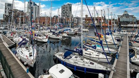 Ipswich Haven Marina, which is celebrating its 20th year Picture: STEPHEN WALLER