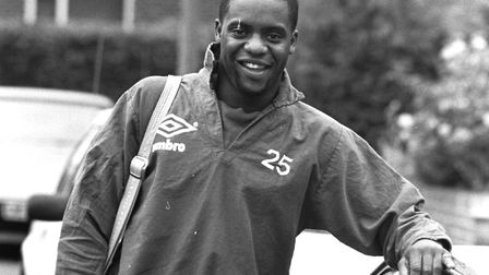 Former Ipswich Town footballer Dalian Atkinson, who died in 2016. Picture: OWEN HINES