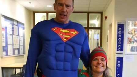 Staff at the school said Mr Burgoyne was never afraid of having fun while working Picture: KESGRAVE