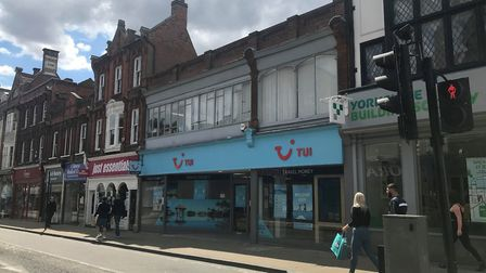 TUI has reopened its office in Upper Brook Street as holidays are now allowed to recommence. Picture