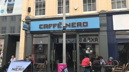 Caffe Nero has reopened both of its sites in Ipswich. Picture: ARCHANT