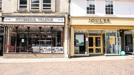 Patisserie Valerie and Joules are still closed Picture: SARAH LUCY BROWN