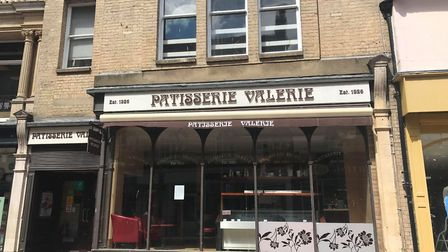 Patisserie Valerie, along with its neighbouring shop Joules, are yet to officially reopen following