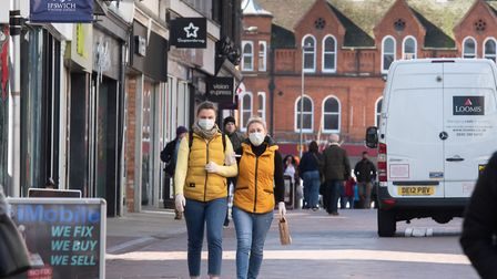 Face coverings will soon be mandatory in shops from Friday Picture: SARAH LUCY BROWN
