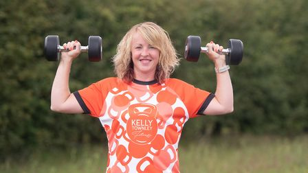 Kelly Townley has set up her own gym at Clopton Park Picture: SARAH LUCY BROWN