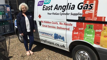 Joanne Raymond has been working hard to keep supplying East Anglian residents with essential gas thr