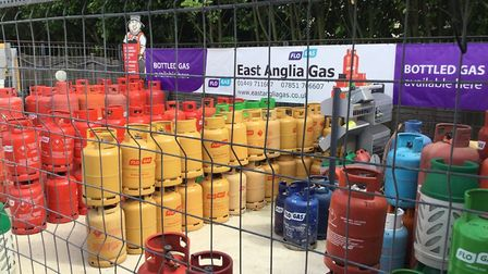 East Anglia Gas are always well stocked Picture: Keith Raymond