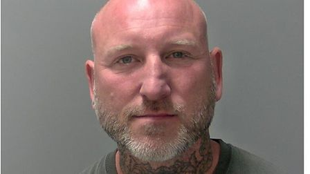 Darren Summers, who was jailed for stalking at Ipswich Crown Court Picture: SUFFOLK CONSTABULARY