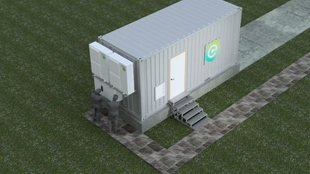 An artist's impression of a Connected Energy E-STOR facility Picture: CONNECTED ENERGY