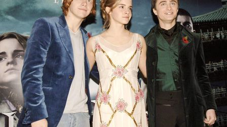 Left to right, Rupert Grint, Emma Watson and Daniel Radcliffe will get the 4DX extreme cinema treatm