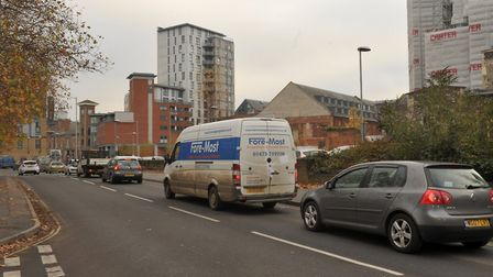 County council officials do not expect to see the return of regular congestion in Ipswich town centr