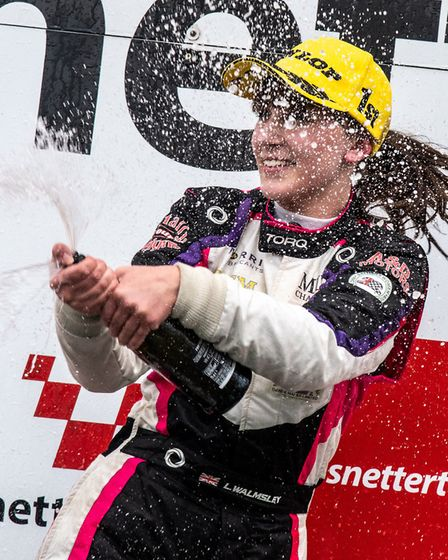 The teen racing sensation from Kesgrave celebrated the end to a great 2019 season after winning the