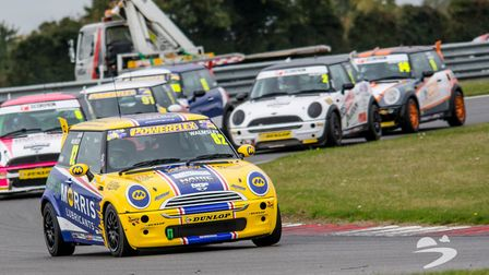Lydia races in a Mini Cooper and will be taking it to Oulton Park in a few weeks for the British Tou