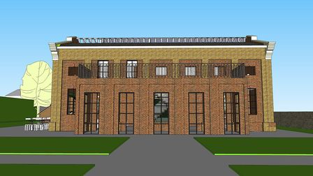 Plans to transform the Old Pump House in Thurleston Road have been submitted to Ipswich Borough Coun