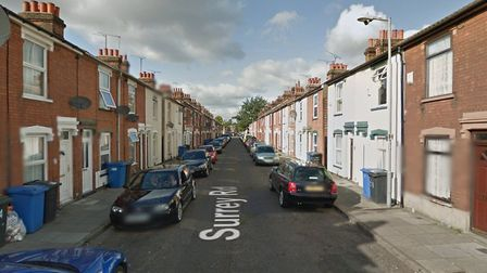 Police were called to Surrey Road in Ipswich Picture: GOOGLE MAPS