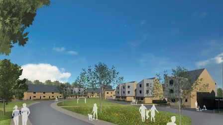 The new homes at Ravenswood would be a mixture of houses, bungalows and flats. Picture: IPSWICH COUN